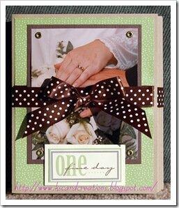 Our Wedding Mini Scrapbook